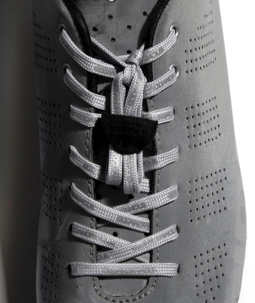 God and Famous Team Lace - Gray/Reflective