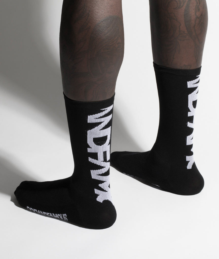 God and Famous Team Sock - Black