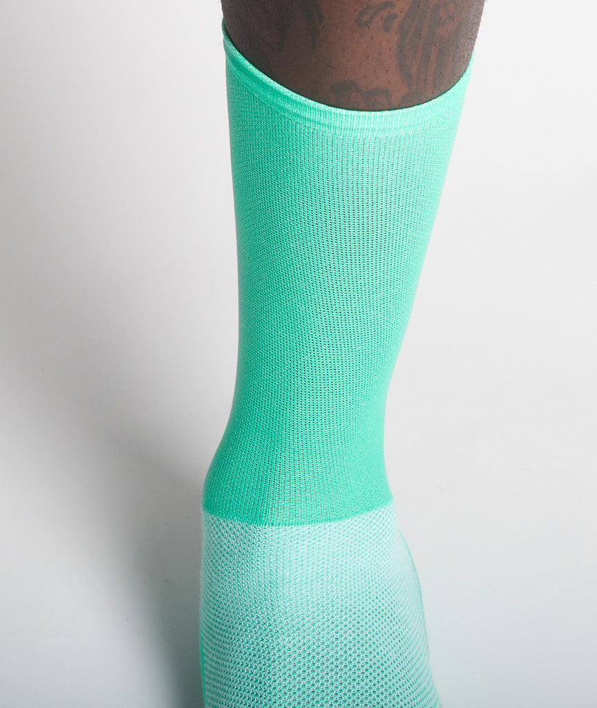 God and Famous Team Sock - Alien Green