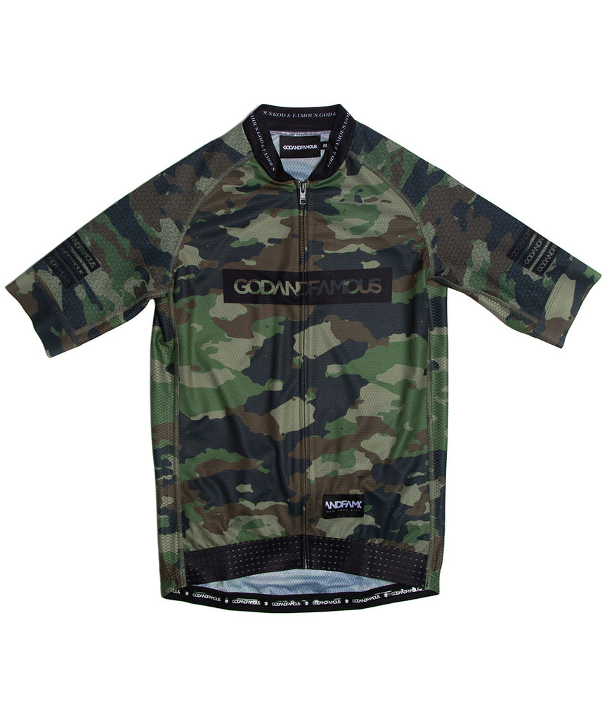 God and Famous Woodland Camo Jersey