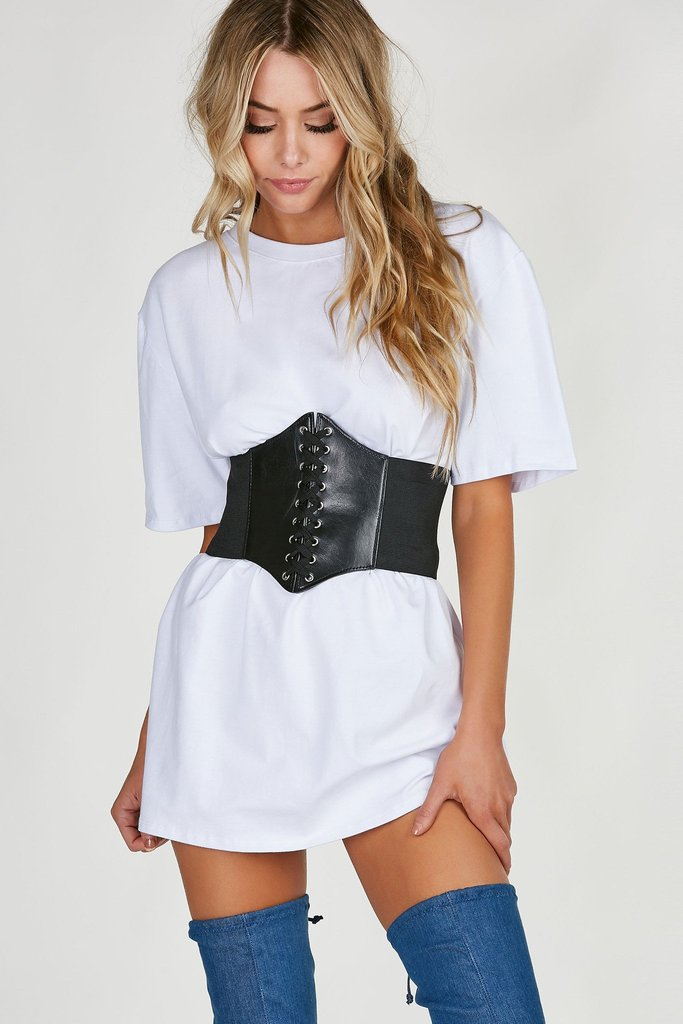 OWN IT LACE UP WAIST BELT