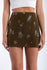Get On The Seafloor Mini Skirt in Olive | Necessary Clothing