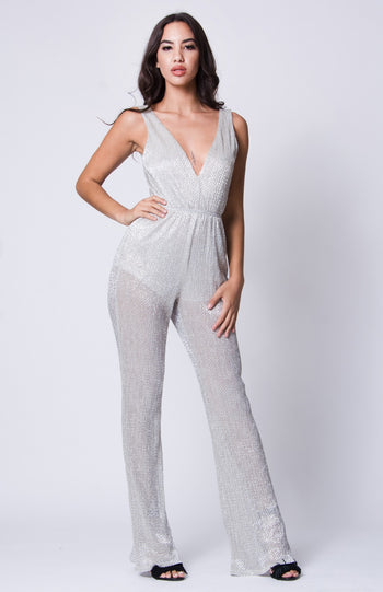 Turn Around Bright Eyes Jumpsuit | Necessary Clothing