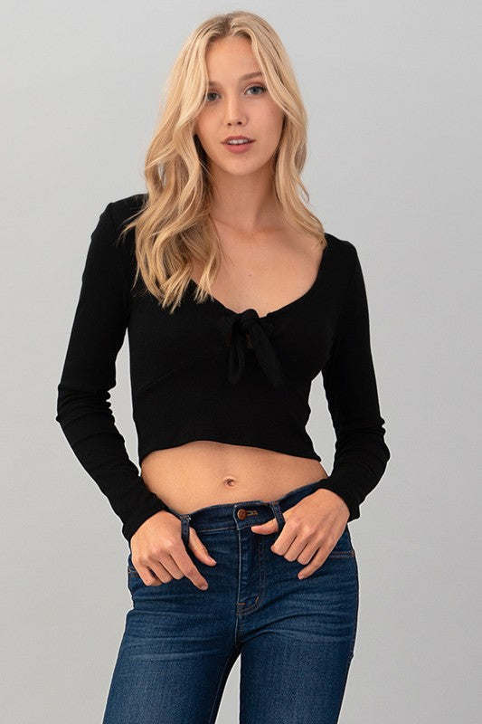 Tie Me Over Crop Top | Necessary Clothing