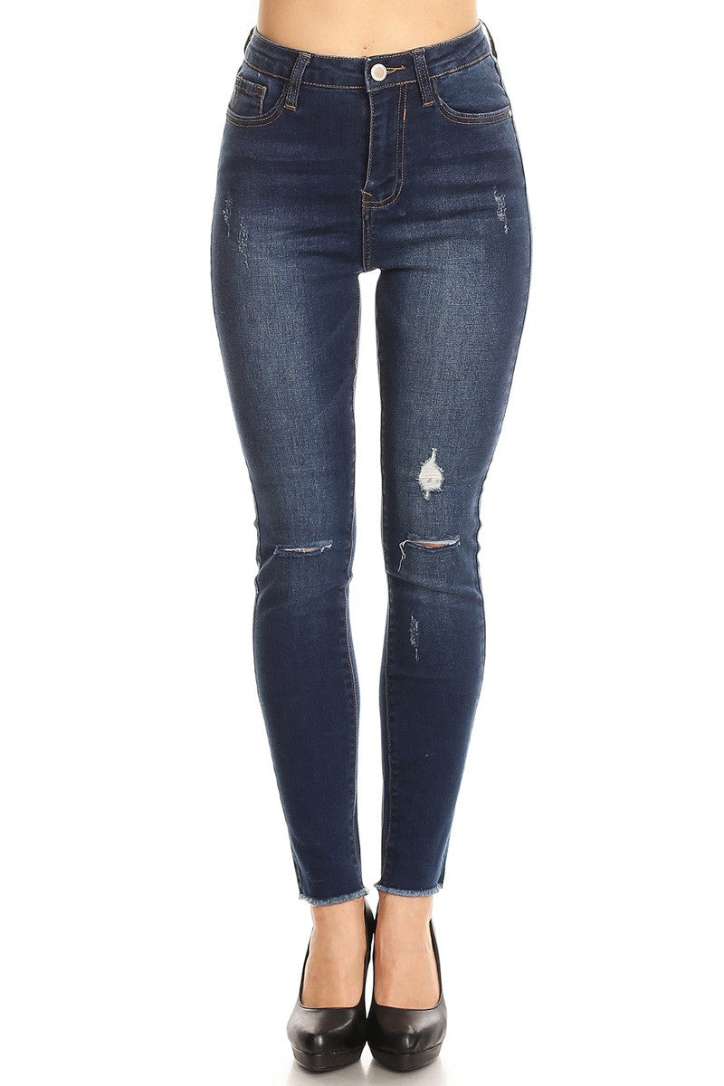 Tall Dark And Skinny Denim Jeans | Necessary Clothing