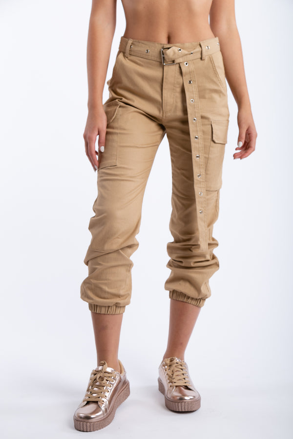 We Should Hangout Cargo Pants in Khaki | Necessary Clothing