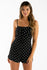 Do's And Dots Romper in Black | Necessary Clothing