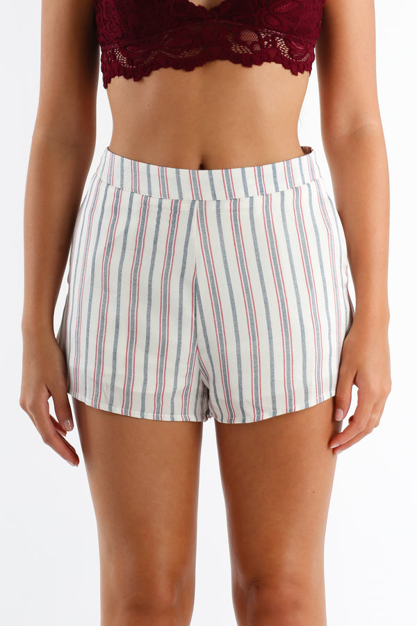 Hull Of It Shorts in White | Necessary Clothing
