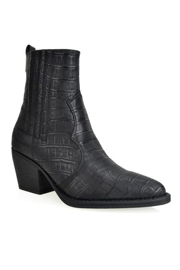 Look What You've Dundee Booties in Black | Necessary Clothing