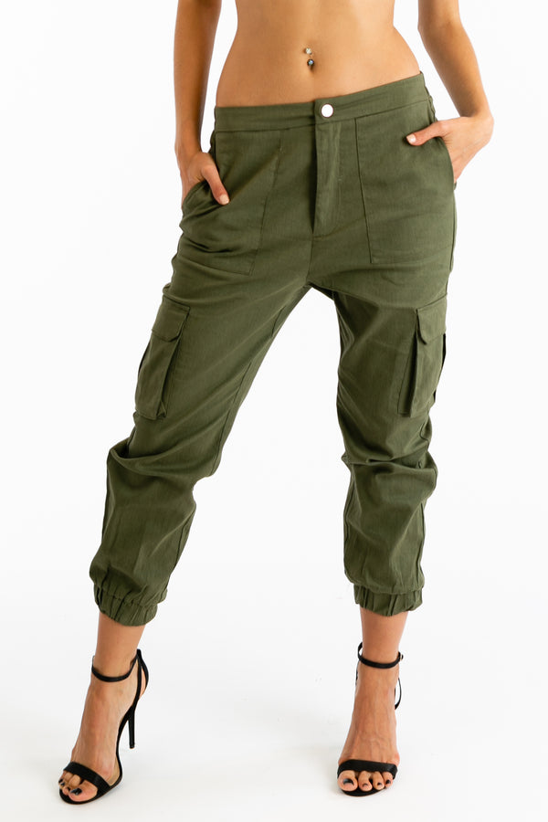 Easy Does It Pants in Olive | Necessary Clothing