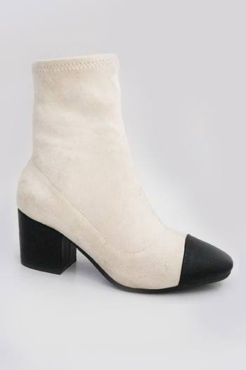 Snoopy Booties in Ivory | Necessary Clothing
