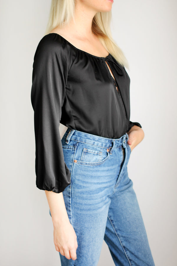 Pleasantville Off Shoulder Bodysuit