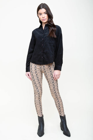 Rattlesnake Royale Leggings