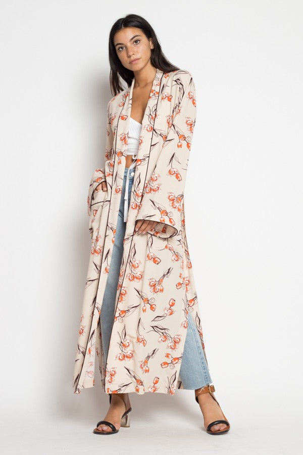 Flower You Anywhere Kimono in Multi | Necessary Clothing