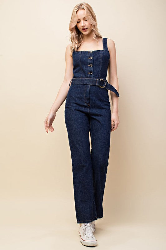 Teacher's Lounge Denim Jumpsuit | Necessary Clothing