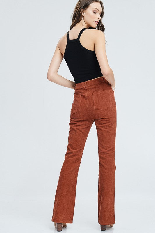 One Suede Road Wide Leg Pants