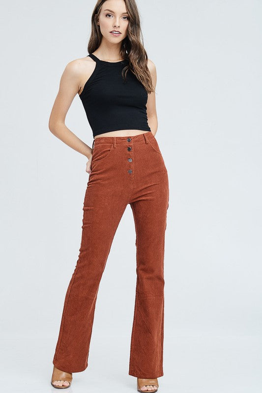 One Suede Road Wide Leg Pants | Necessary Clothing