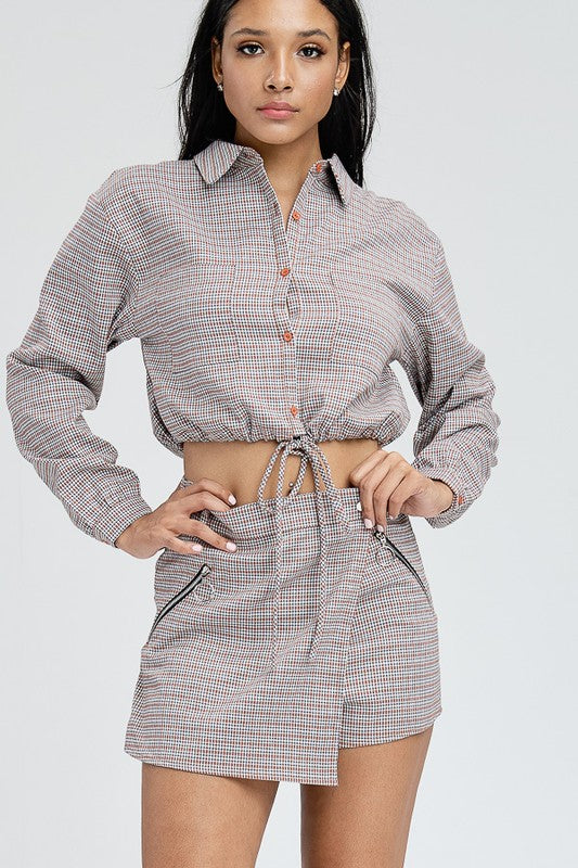 Plaid The Part Matching Set | Necessary Clothing