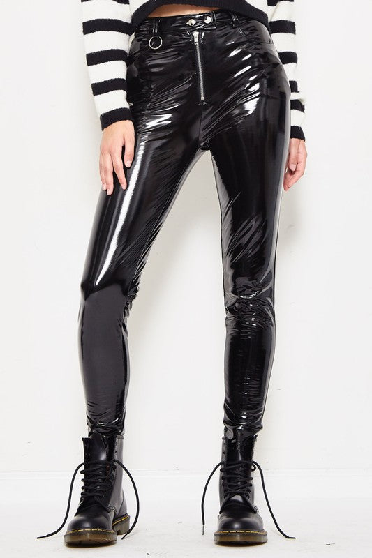 Call You Latex Pants in Black | Necessary Clothing