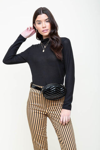 Sexy Librarian Turtleneck Top