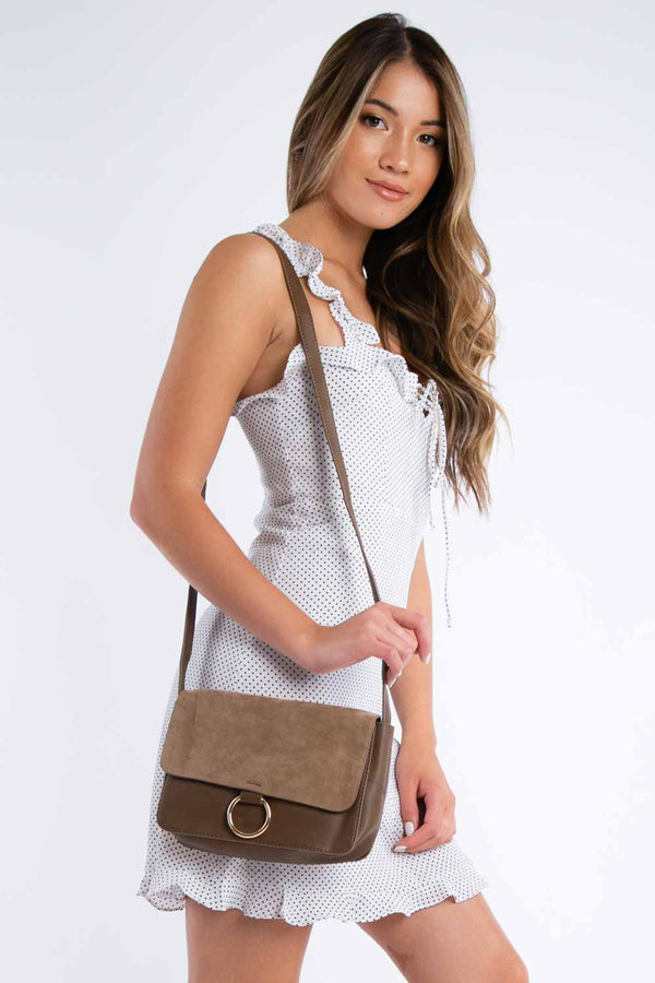 Give Me A Ring Purse in Khaki | Necessary Clothing