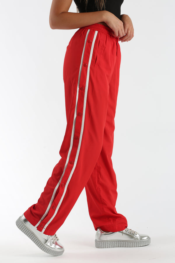 Foul Shot Pants in Red | Necessary Clothing