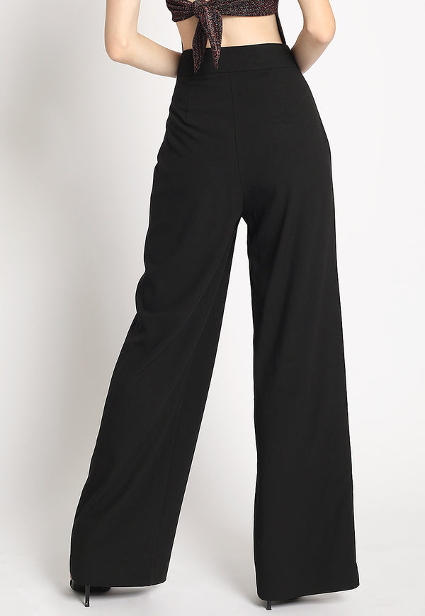 Open For Business Suit Pants in Black