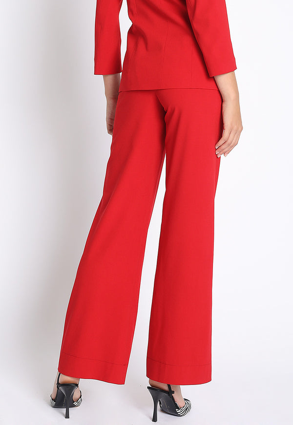 Open For Business Suit Pants in Red