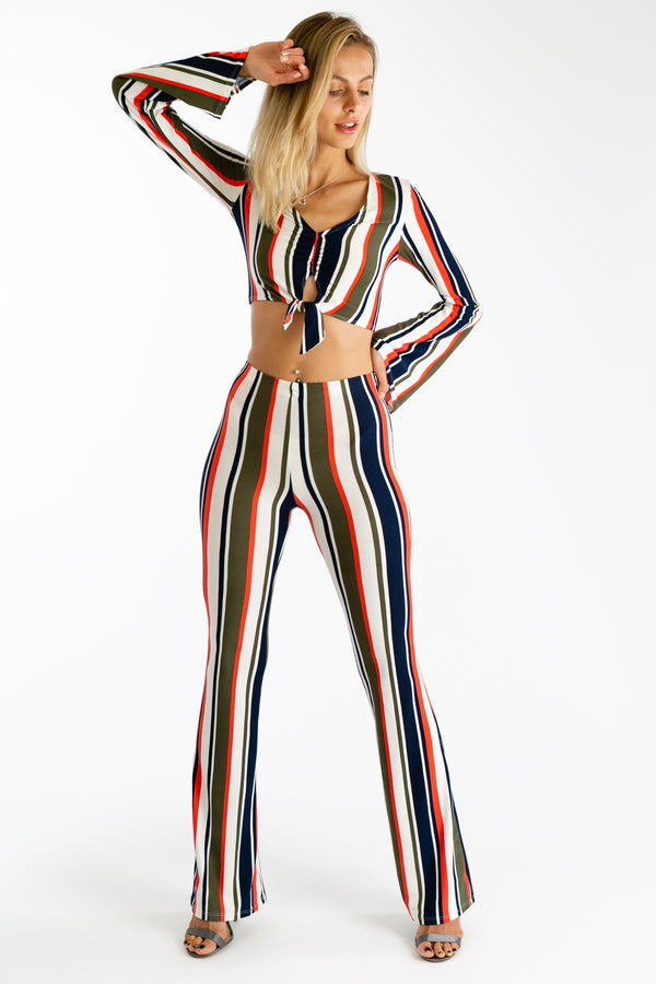 Stripe A Match Matching Pants Set | Necessary Clothing