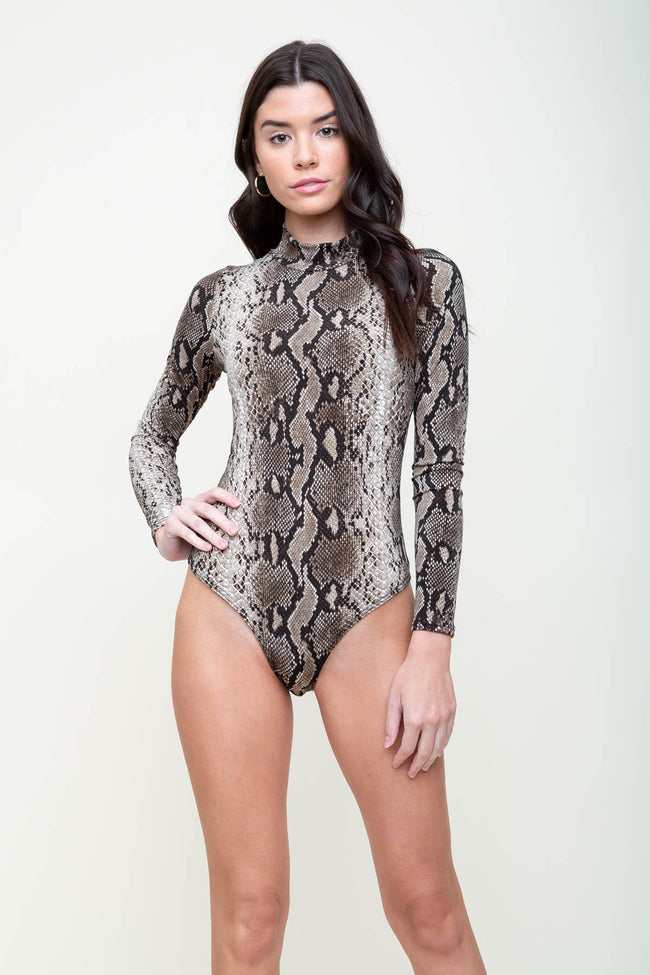 Snake What You Get Bodysuit | Necessary Clothing