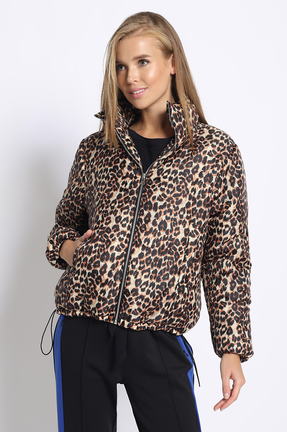 Snow Leopard Puffer Jacket | Necessary Clothing