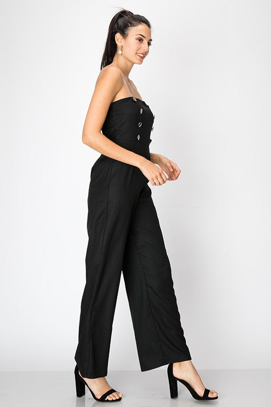 Band Camp Tube Jumpsuit