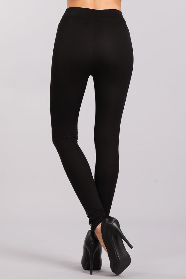Browse The Net Leggings in Black | Necessary Clothing
