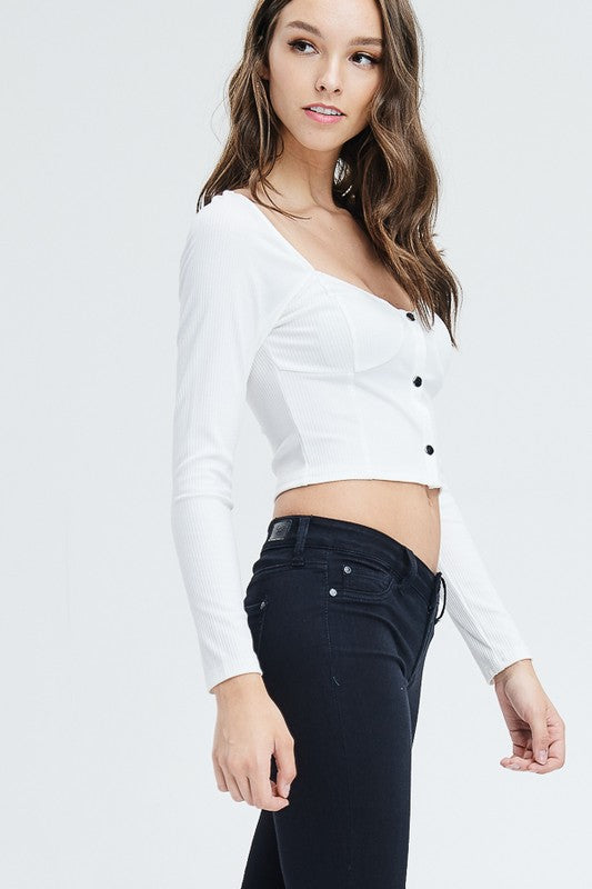 Cloud Nine Crop Top