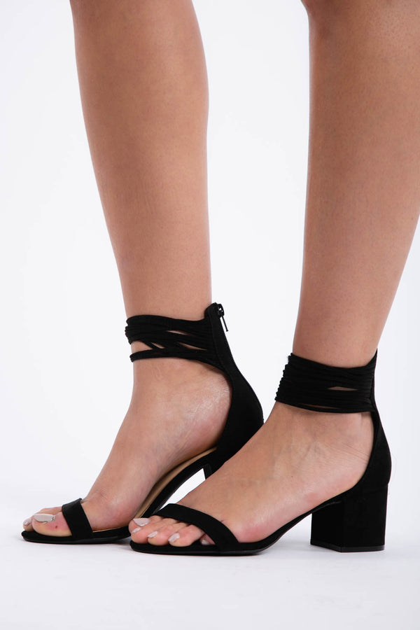 There She Goes Heels in Black | Necessary Clothing