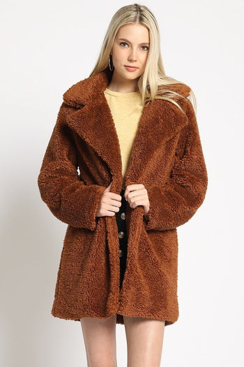 Are You Faux Real Coat | Necessary Clothing