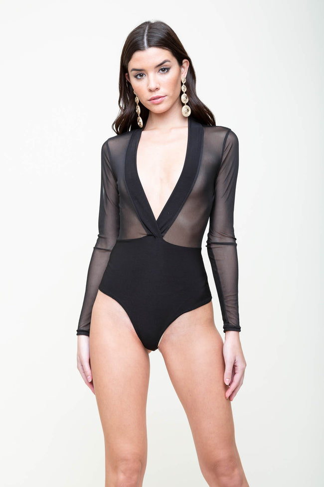 Your Mesh Is Mine Bodysuit | Necessary Clothing
