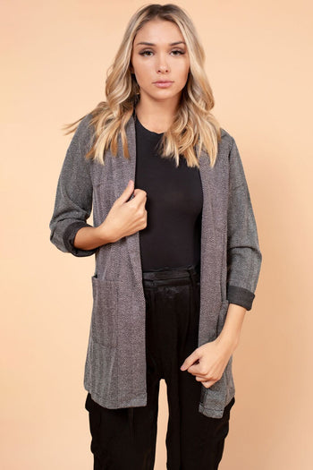 Weekend Warrior Blazer in Black | Necessary Clothing