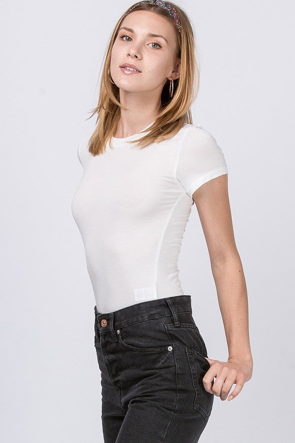 Keep The Piece Short Sleeve Bodysuit