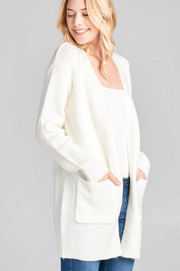 Windy City Cardigan in Off White | Necessary Clothing