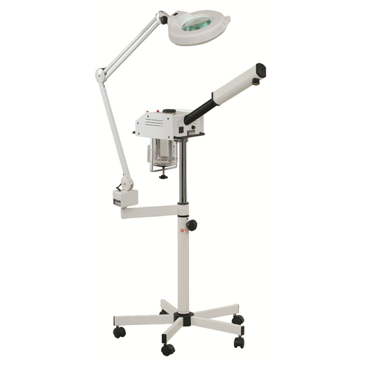 101-0186 Facial Steamer and Spa Treatment Lamp Combo