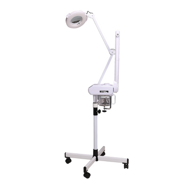 facial steamer professional facial vaporizers mag lamp combo magnification rollerbase rollerstand stand made in America