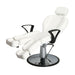 salon all purpose chair styling hairdressing reclining white hydraulic heavy duty barber shave waxing
