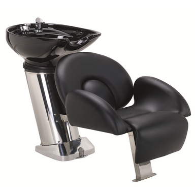 40B Shampoo System, Black - Garfield Commercial Enterprises Salon Equipment Spa Furniture Barber Chair Luxury