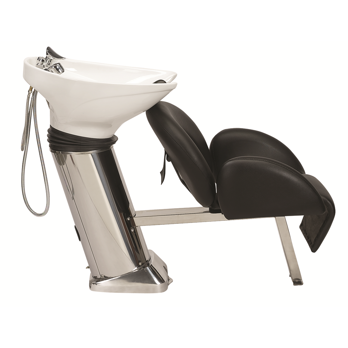 40B Shampoo System, White - Garfield Commercial Enterprises Salon Equipment Spa Furniture Barber Chair Luxury