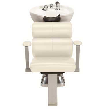 50B Shampoo System, White - Garfield Commercial Enterprises Salon Equipment Spa Furniture Barber Chair Luxury