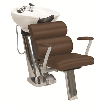 50B Shampoo System, Mocca - Garfield Commercial Enterprises Salon Equipment Spa Furniture Barber Chair Luxury