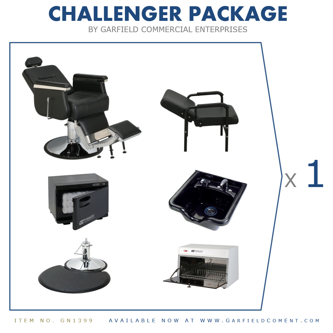 Challenger Salon Package | 1-Operator