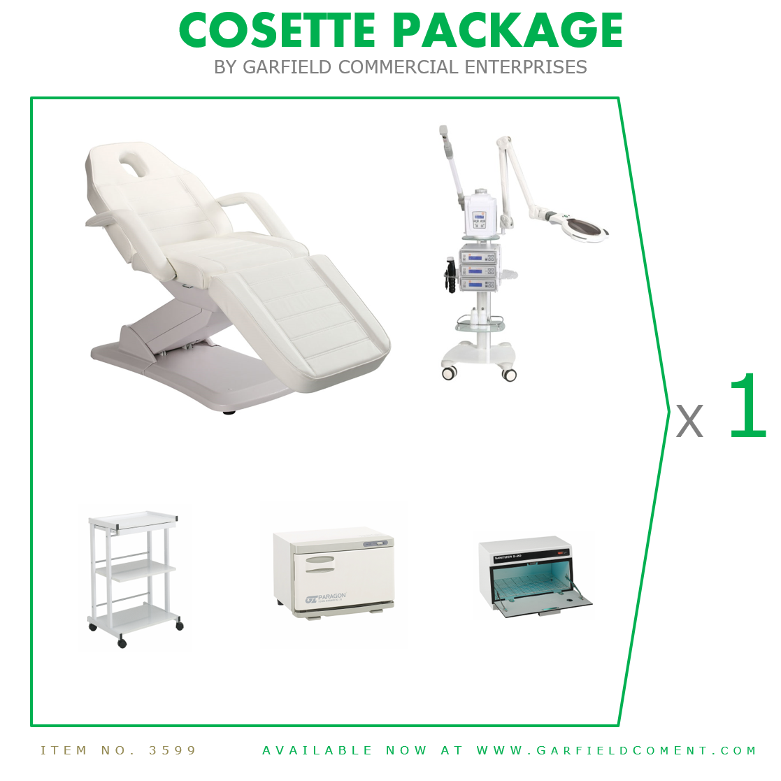 Cossette Spa Package