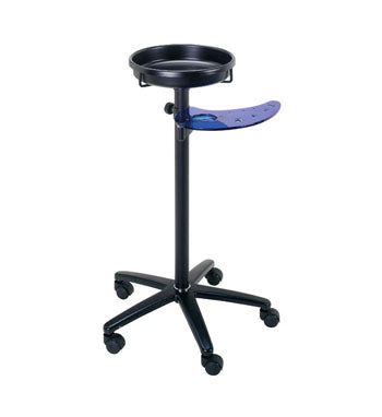 salon mobile service tray adjustable height